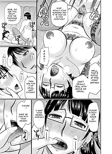 english manga Oi to Oba no Heya - Nephews and Aunts.., big breasts , glasses  incest