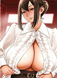 英语漫画 dankon sousai hitozuma kyoushi ga.., big breasts , glasses